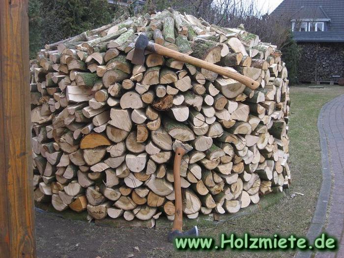 Alternativlösung für Brennholz Platzmangel