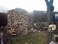 Die alternative Holzlagerung zum trocknen von Brennholz
