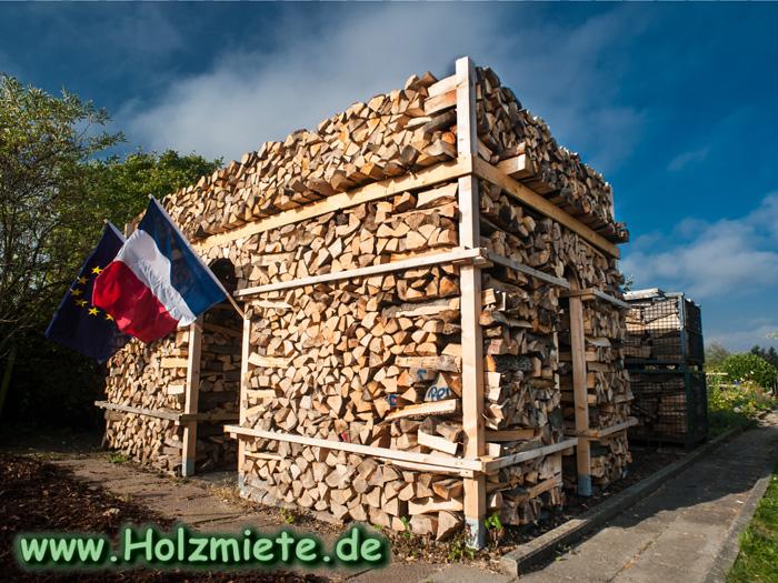 Holzmiete Arc de Triomphe