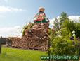 Stupa von Bodnath aus Kathmandu in Nepals