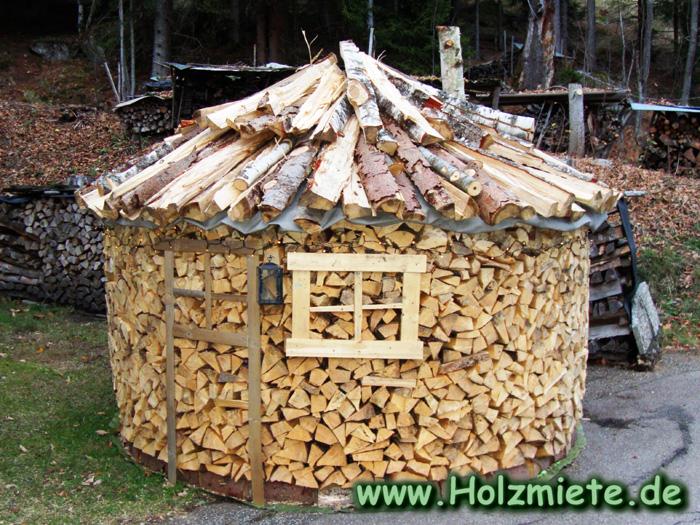 10 Ster Fichten und Birkenholz