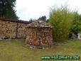 Bau einer eigenen Holzmiete im heimischen Garten