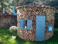 Holz für Holzheizung mit Pelletautomatik