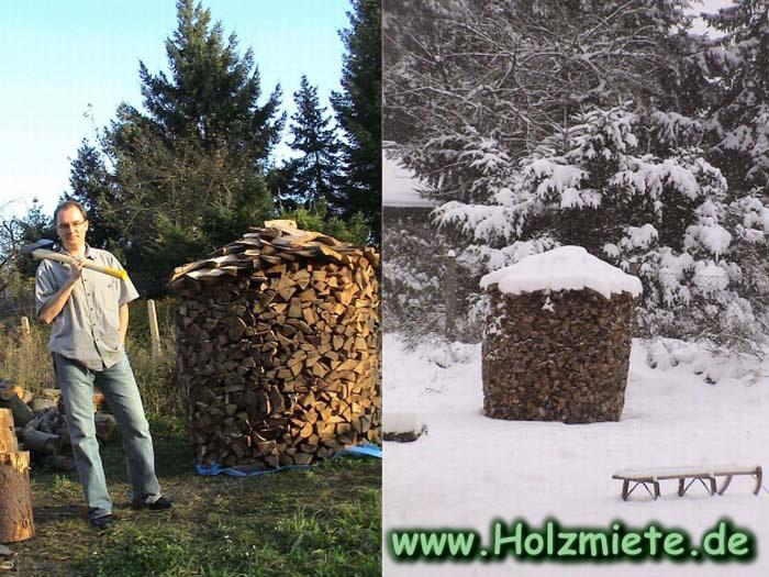 Die Axt macht fit und warm - Holz aus Brandenburg