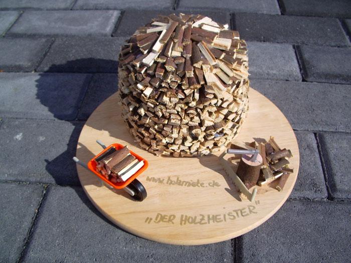 Modell - Holz hacken in Velbert