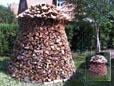 Mit Holz heizen, heisst billig heizen