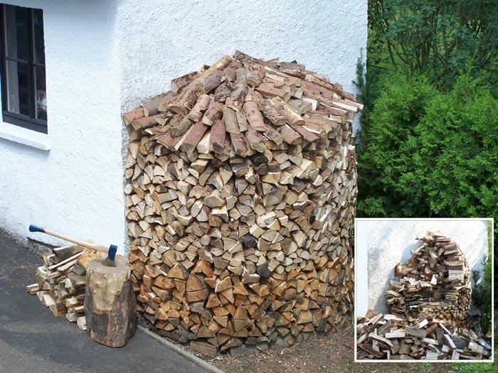 holzschauer zu klein zum brennholz lagern. Black Bedroom Furniture Sets. Home Design Ideas