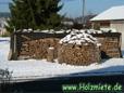 Holzstücke für das Dach flach schindelförmig gespalten