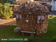 schönste Aufbewahrung für Brennholz