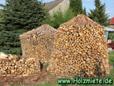 eine standfeste Holzmiete bauen