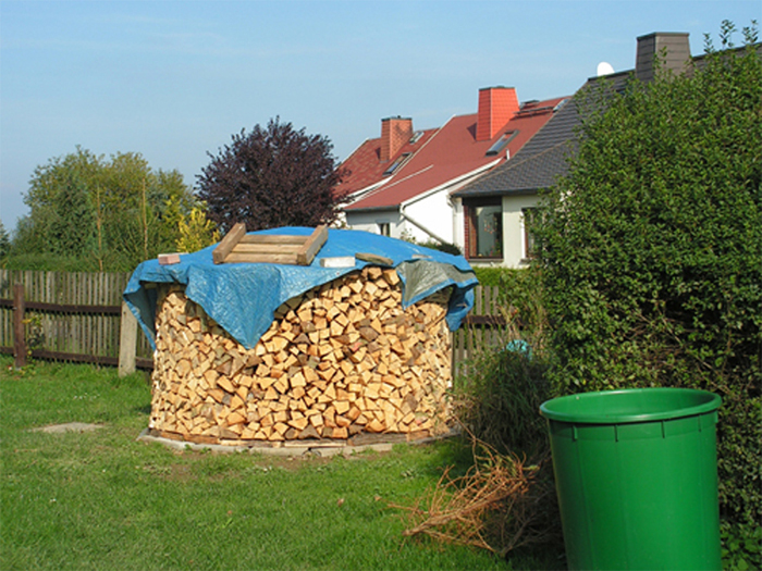 5 Ster Holz waren doch zu wenig