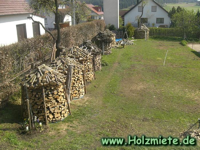 unförmige Holzteile als Brennholz